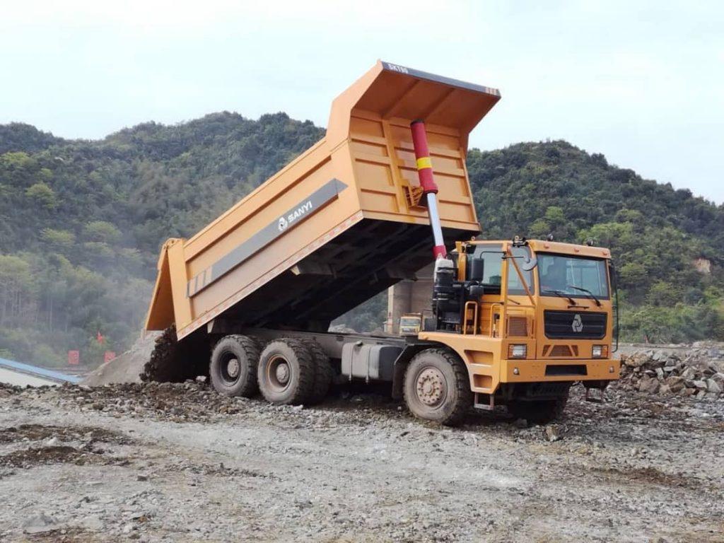 کامیون معدنی